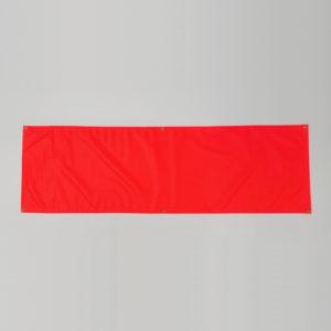 Vinyl Banner - Fluorescent Orange