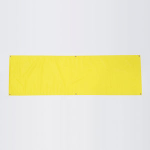 Vinyl Banner - Fluorescent Yellow