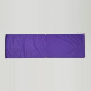 Vinyl Banner - Purple