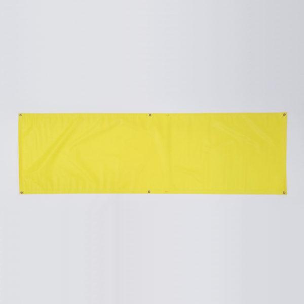 Vinyl Banner - Yellow