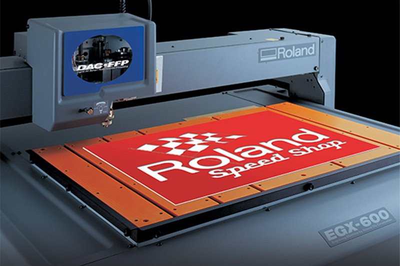 Roland EGX Professional CNC Engraving Machines – One Shot